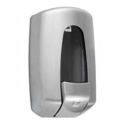 Dispensador de jabón líquido de pared en acero inoxidable cepillado FUTURA II