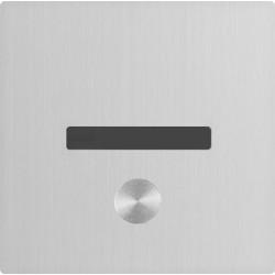 I-CARO liberación automática o manual de urinarios empotrados de acero inoxidable