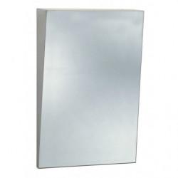 Espejo inclinado PMR de acero inoxidable antivandálico