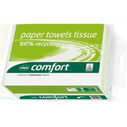 Papier essuie-mains pour distributeur feuille à feuille