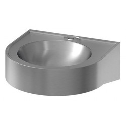 Wash basin mural stainless steel for collective facilities