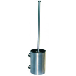 toilet brush holder wall mounted stainless steel without lid