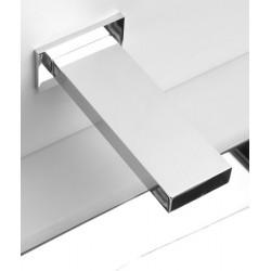Grifo automático de pared para el lavado de manos CUBICA diseño rectangular