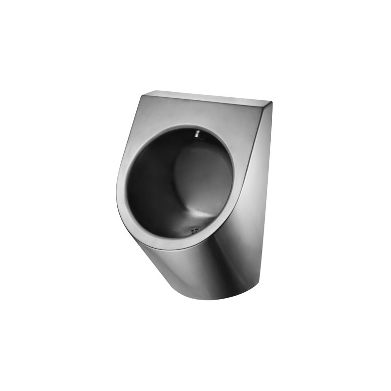 Photo urinal without water in stainless steel UR-21