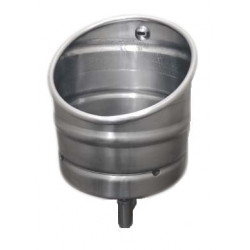 Miniature-1 Beer keg urinal KEG stainless steel with automatic flush UR-30-ET