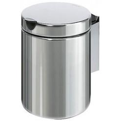 Minibasket de acero inoxidable de 3L con tapa