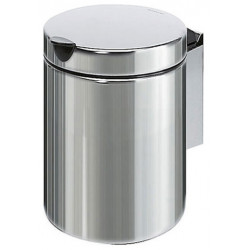 Mini waste bin wall fixation stainless steel 3L with lid