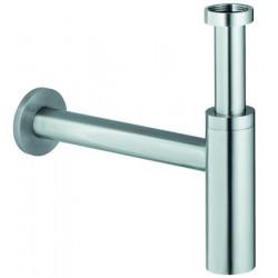 Siphon lavabo inox Design apparent ajustable