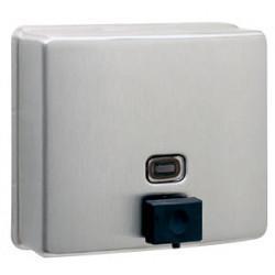 Dispensador de jabón de pared rellenable de acero inoxidable NOVA