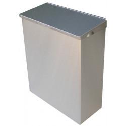 Miniature-0 Sanitary bin in stainless steel feminine hygiene DA-88