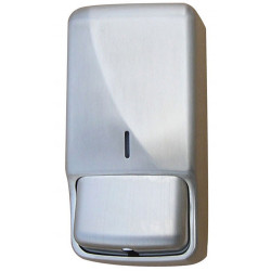 Hand sanitizer or foam soap dispenser wall mounted stainless steel FUTURA