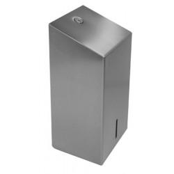 Dispensador de papel higiénico de acero inoxidable ELITE hoja por hoja