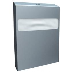 Distributeur inox de papiers couvre siège WC