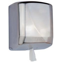 Distributeur bobine essuyage maxi dévidage central FUTURA  inox brossé