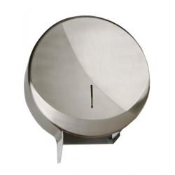 Stainless steel toilet paper dispenser FUTURA roll 300 m