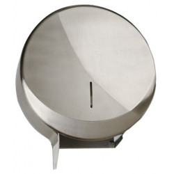 Toilet paper roll dispenser maxi stainless steel brushed FUTURA