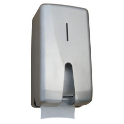 Porte-rouleau papier toilette double inox FUTURA