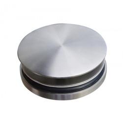 Bonde lavabo inox brossé design écoulement libre