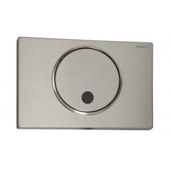Stainless steel plate WC GEBERIT automatic with infrared à detection