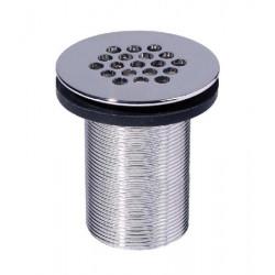 Free flow perforated plug