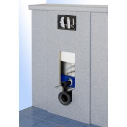 Revestimiento de laminado para el marco de soporte del WC