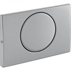 Stainless steel toilet release plate