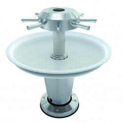 Lavabo fontaine automatique sur pied LAGOON accessible P.M.R.