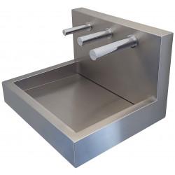 Miniature-3 Sèche-mains automatique mural sur lavabo design assorti becs eau et savon RONDEO SM-20