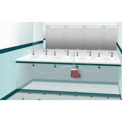 Distribución centralizada de jabón para los dispensadores electrónicos SUPRATECH