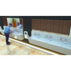 Miniature-1 Distributeurs savon muraux automatiques avec réservoir centralisé RES-790