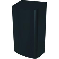 Secador de manos automático en negro mate