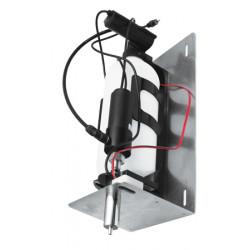 Dispensador automático de espuma de jabón para instalar detrás de un espejo