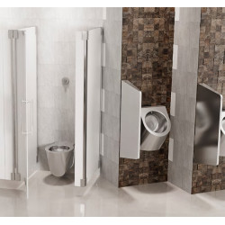 Miniature-1 Urinal design electronic stainless steel URBA-TH with concealed detection UR-11-TH