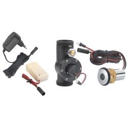 Kit chasse directe WC automatique par détection de présence ou approche de la main