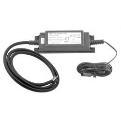 Transformador 230/12V IP68 cable desnudo para un máximo de 4 válvulas