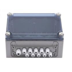 Boitier transformateur de jonction distributeurs de savon