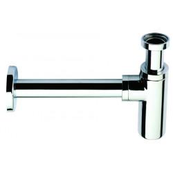 Design sink waste trap 1 1/4'' chromed