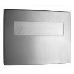 Dispensador de tapas de inodoro de acero inoxidable