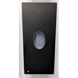 Distributeur automatique mural de savon liquide noir mat