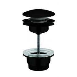 Waste trap for wash basins or vanity bowl matte black