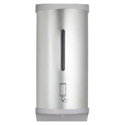 Automatic foam soap dispenser stainless steel mural, by battery or mains operated