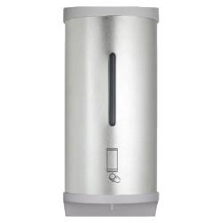 Distributeur automatique de savon mousse inox mural, à piles ou sur secteur