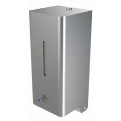 Dispensador de desinfectante líquido de pared de acero inoxidable con detección
