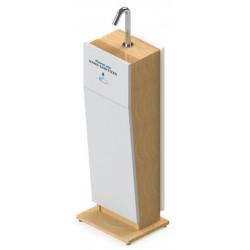 Borne automatique de gel hydro-alcoolique ONE pour espace public