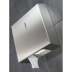 Miniature-1 Porte-rouleau papier WC inox antivandalisme pour collectivités PR-07