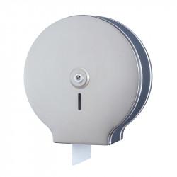 Porte rouleau papier WC inox brossé maxi pour usage intensif
