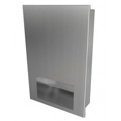 Hand dryer design recessed stainless steel automatic vandal-proof