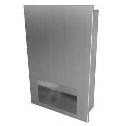 Secador de manos automático de acero inoxidable antivandálico