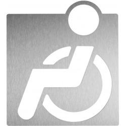 Pictograma de aseo para discapacitados