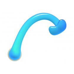 Door handle touch free sky blue